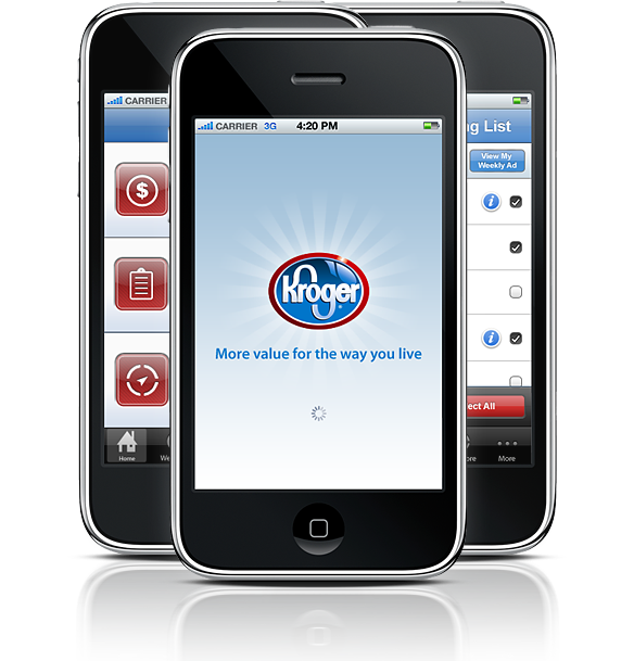 Kroger App iPhone